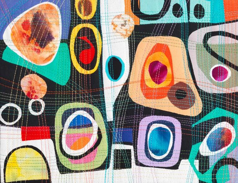 Urban Landscape, Contemporary Quilt For Sale 6