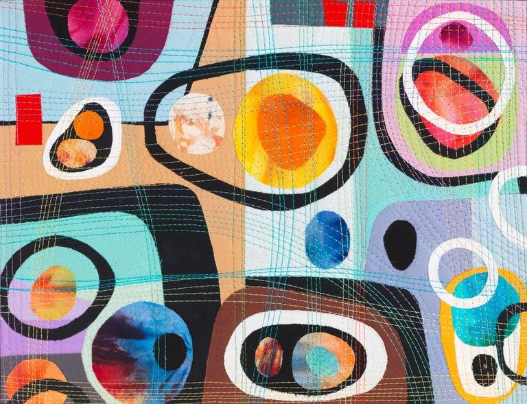 Urban Landscape, Contemporary Quilt For Sale 7