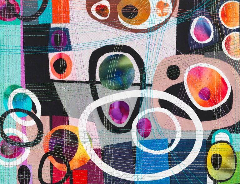 Urban Landscape, Contemporary Quilt For Sale 8