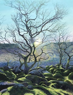 Wild Wistman's Wood.  Contemporary Landscape Painting