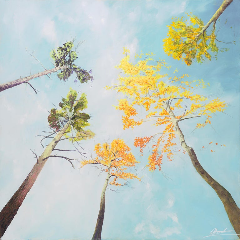 Skyscape.  Contemporary Landscape Painting 1