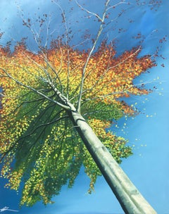 Carnival Tree.  Contemporary Landscape Painting