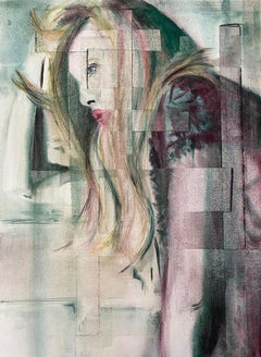 Layers of Separation *1 *1. Contemporary Figurative Watercolour