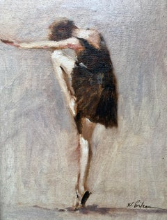 Dancer,  Contemporary American Figurative Oil painting