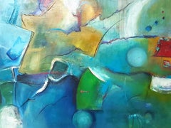 """""""Nautical Archaeology"""" : Contemporary  Abstract Painting"""