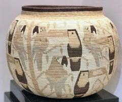Basket, Parrot, Toucan designs Panama Rainforest Wounaan Tribe