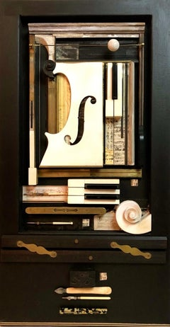Music Night Composition 3D Wall Art Sculpture