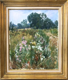 Landscape French Impressionist Oil Painting