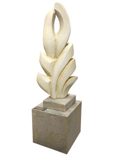 Suddenly It's Spring Carrara Marble Sculpture