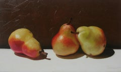 Three Siblings Still Life With Pears