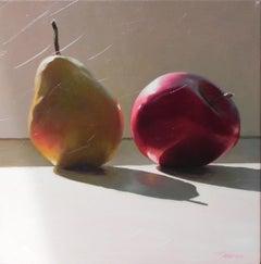 Sunbathing Still Life with Fruit