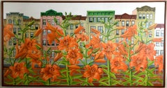 Orange Daylily East Village New York