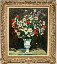 Still Life With Flowers Bouquet De Fleurs Champs