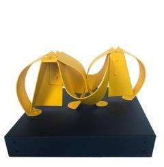 Geminis Yellow Sculpture