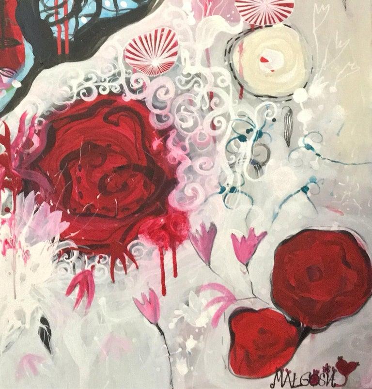 So Sorry  - Painting by Malgosia Kiernozycka