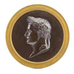 Bronze Portarit of Napoleon