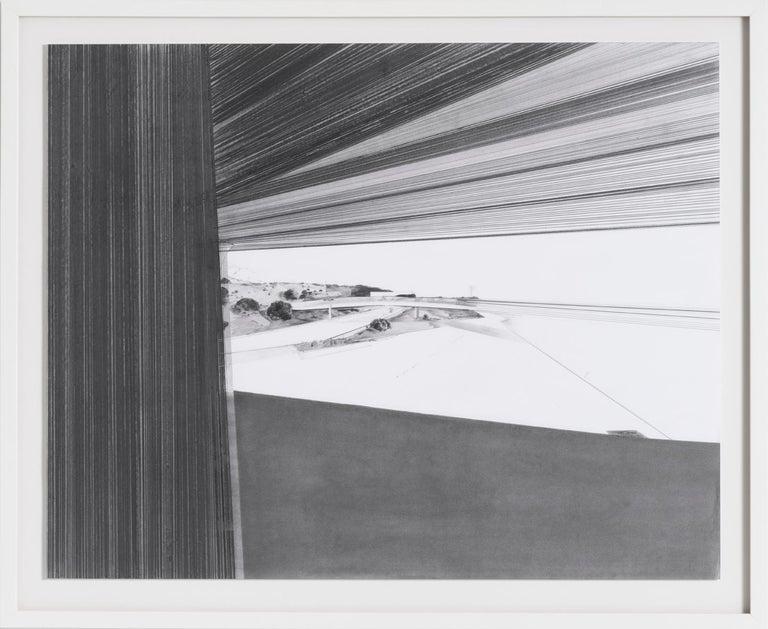 Artomi #3 - Gray Landscape Art by Dimitri Kozyrev