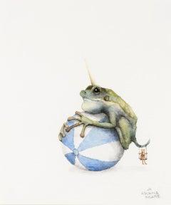 Frog on Ball