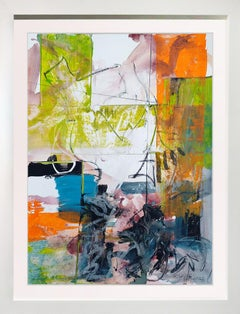 """Walk on the Edge""  Original Painting 37x29 framed"