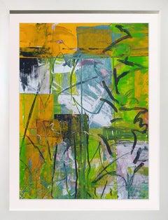 """""""More Garden Windows""""  37x29 Acrylic"""