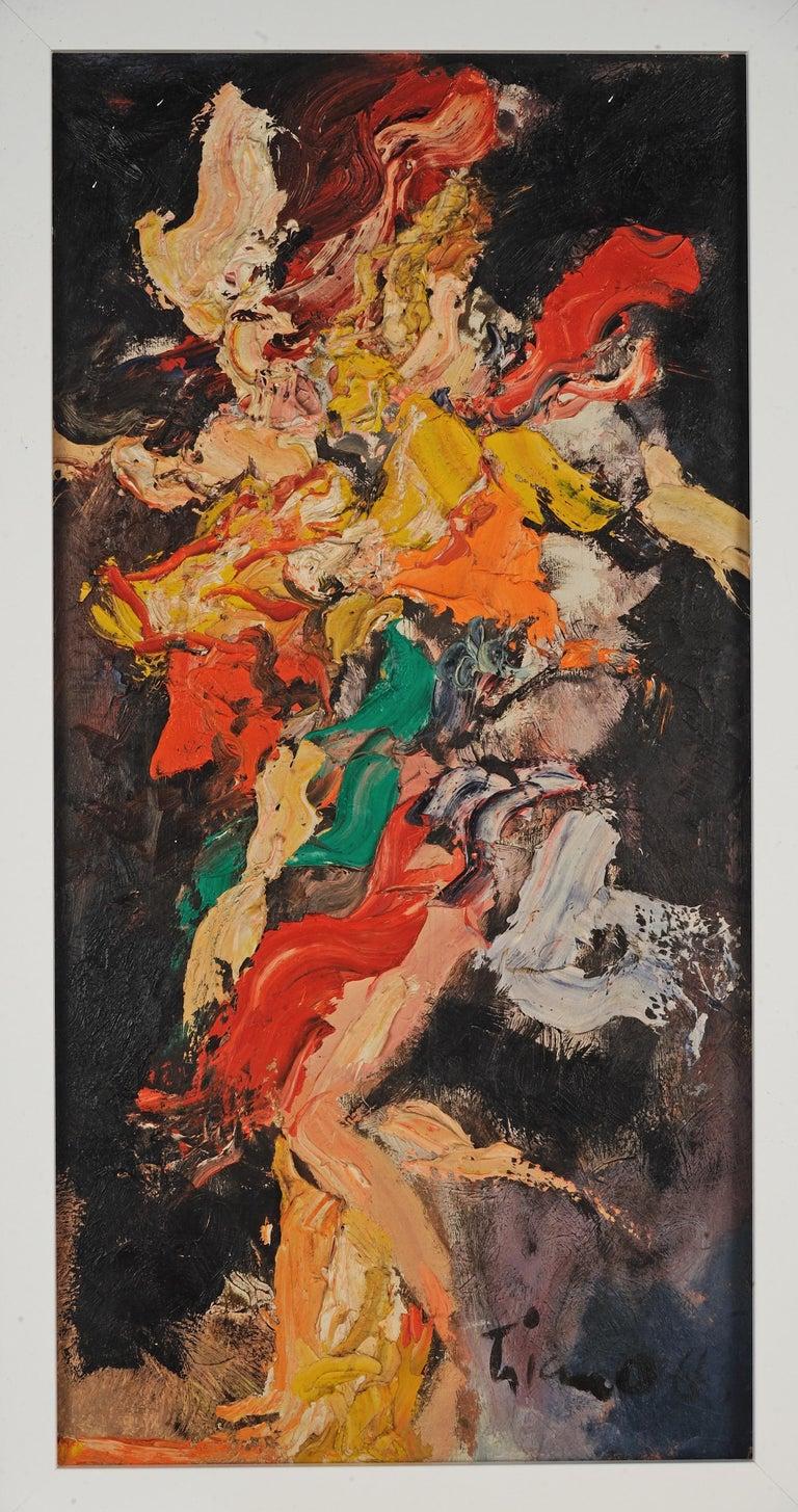 Abstract - Mixed Media Art by Anthony Thomas Triano