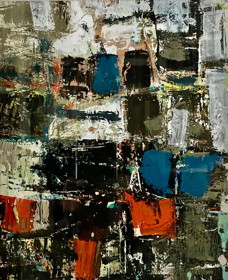 Pierre Gendron Abstract Painting - Abstraction