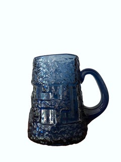 Cobalt blue mug for Ruda Glasbruk