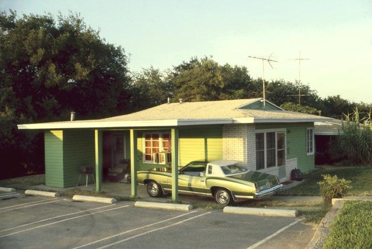 Christina Patoski Color Photograph - Green on Green