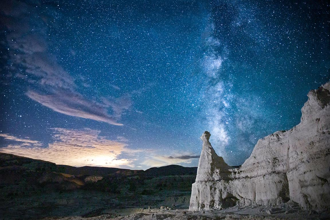 Dali Milky Way Sunset