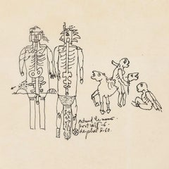"Nikie de Saint Phalle ""Two Drawings"""