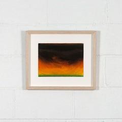 "Rita Letendre ""Storm"" Pastel Drawing, 1980"