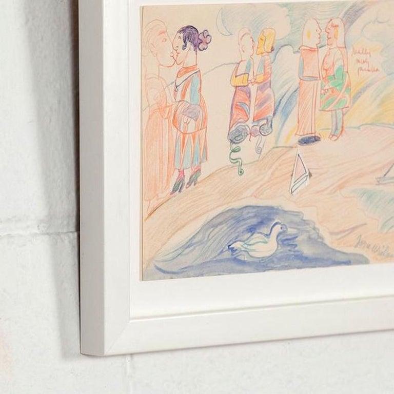 Pastel Couples - Conceptual Art by Joyce Wieland