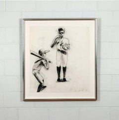(Study for) Boys at Bat