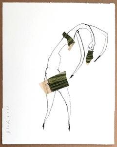 Serge Bloch, original, work on paper, Ballet Dancer 1