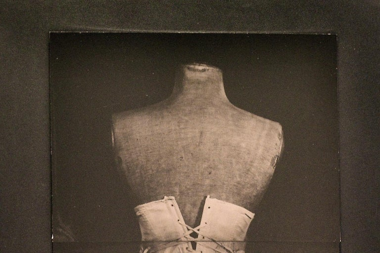 My Grandmother's Corset (Vintage Still Life Photograph of a White Corset) For Sale 2