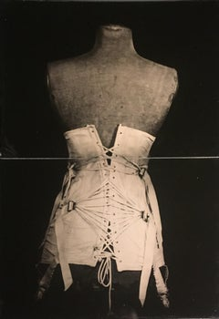 My Grandmother's Corset (Vintage Still Life Photograph of a White Corset)