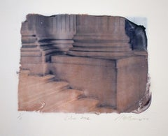 Untitled 30 (Polaroid Transfer Drawing of a Classical Column Base by Mark Beard)
