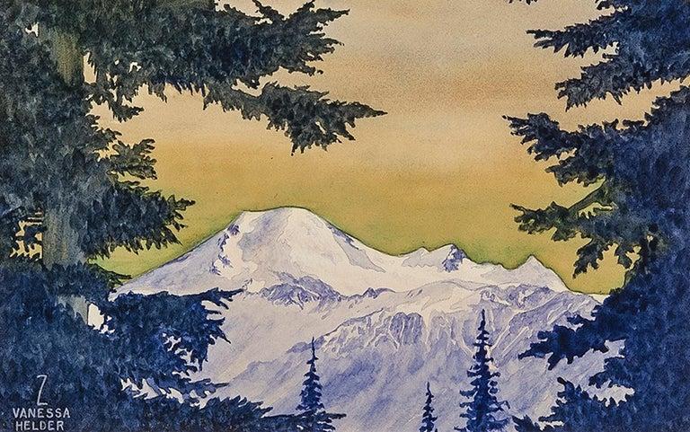Zama Vanessa Helder Landscape Art - Mount Baker, Washington