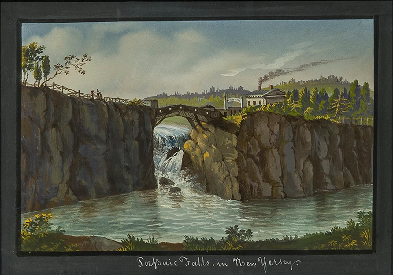 Passaic Falls in New Jersey