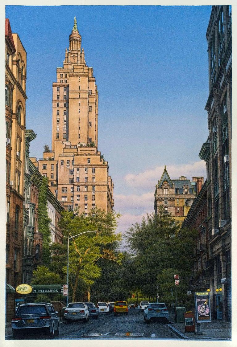 Frederick Brosen Landscape Art - West 74th Street
