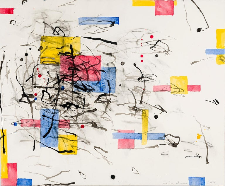 Louisa Chase Abstract Drawing - Untitled