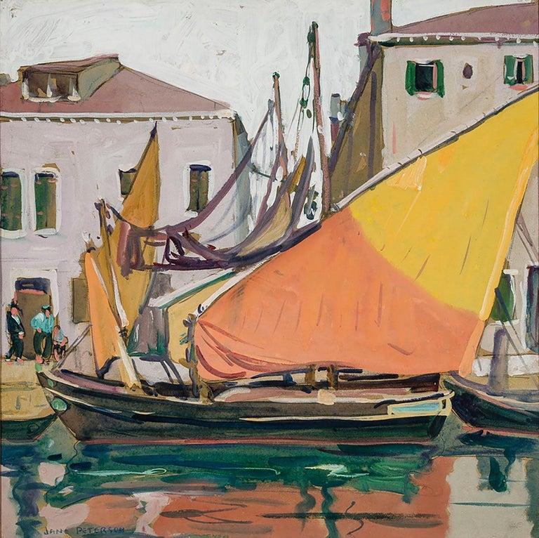Jane Peterson Landscape Art - Venice