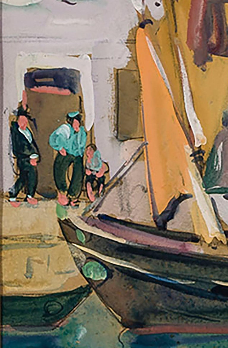 Venice  - American Impressionist Art by Jane Peterson