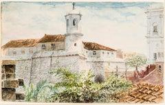 View of De Soto's Fort, Havana, Ciba