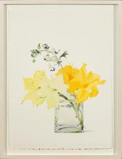 Daylilies and Monkshood, July