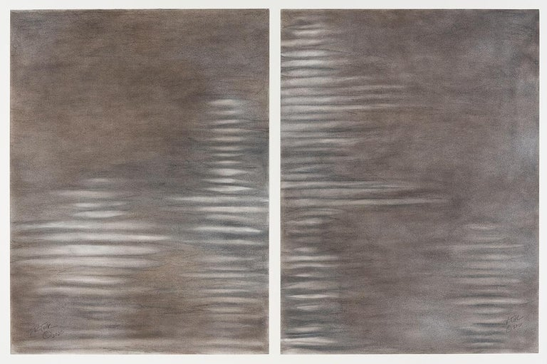Elizabeth Turk Abstract Drawing - The Air We Breathe 5 and 6