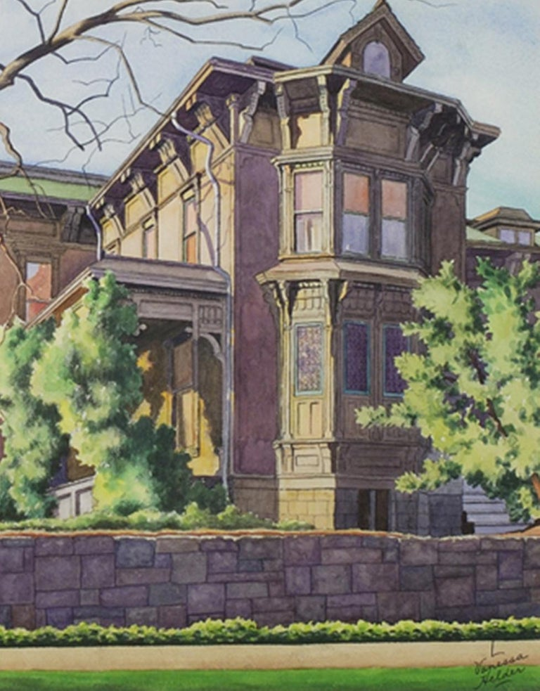 Old T. T. Minor House, First Hill, Seattle - Art by Zama Vanessa Helder