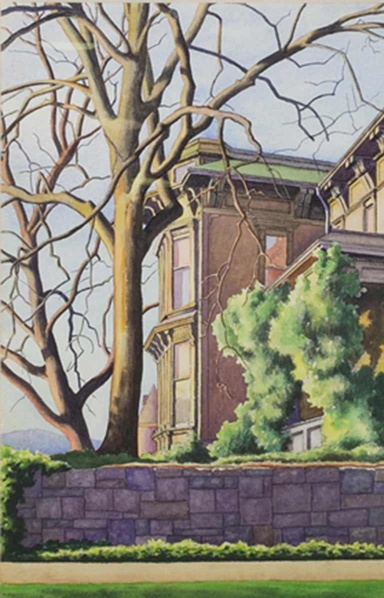 Old T. T. Minor House, First Hill, Seattle - American Modern Art by Zama Vanessa Helder