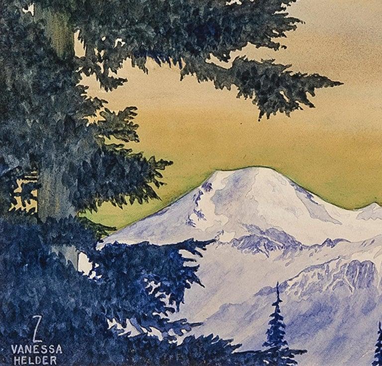 Mount Baker, Washington - Art by Zama Vanessa Helder