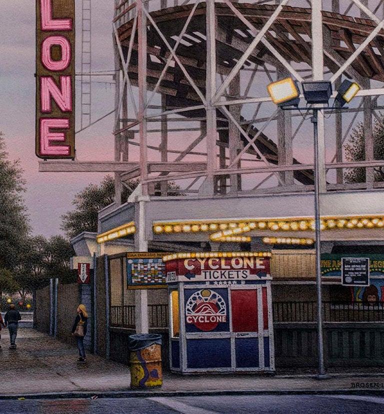 West 10th Street, Coney Island  - Contemporary Art by Frederick Brosen